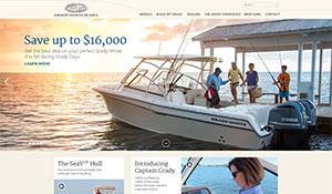 Grady-White Boats Website Redesign